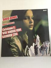 David Bowie - Christiane F. WIr Kinder Vom Bahnhof Zoo LP (BL 43606)