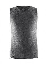 Funktionsshirt Trägershirt CRAFT Active Comfort, Herren, ärmellos, schwarz grau