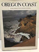 OREGON COAST BY RAY ATKESON. USED HARD COVER BOOK. 1972