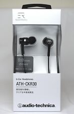audio-technica-Sound Reality ATH-CKR30 BK In-Ear Canal Headphones