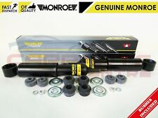 FOR	TOYOTA HIACE REAR AXLE GENUINE MONROE SHOCK ABSORBER SHOCKERS & BUSHES SET