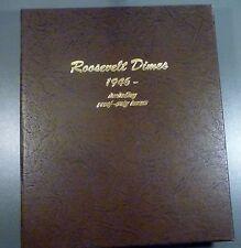 1946-2015-P,D,S Complete Roosevelt Dime Set Dansco BU + ALL Silver & Clad PROOFS
