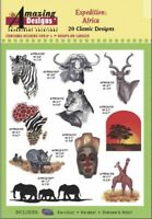 Amazing Designs Expedition Africa 20 Classic Designs ADC-104J Brand New Sealed