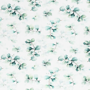 EUKALYPTUS weiß Jersey von Swafing ** 155 cm breit ** 1m **