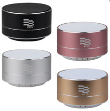 Byte Metal Pulse Bluetooth Speaker Wireless Music Smartphone Compatible