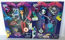My Little Pony 2 Doll LOT Flash Sentry Friendship Games & Rarity Mane Event NEW