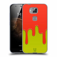 Cover e custodie Arancione Per Huawei Honor 6, con motivo, stampa per cellulari e palmari