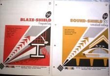 CAFCO Blaze-Shield Sound Shield Catalog ASBESTOS Insulation Fireproofing 1966