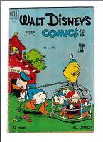 Walt Disney's Comics & Stories No.121   : 1950 :   : School House Cover! :