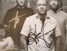 Killswitch Engage Vintage Signed Photo Metalcore Band Metal Punk Rock Fusion