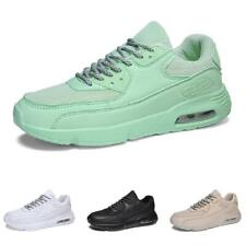 Mens Leisure Sneakers Shoes Outdoor Running Sports Gym 4 Color Boards Fitness D