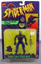 Animate Series Spider-Sense SpiderMan Wall Crawling Action Figure ToyBiz '95 NiB
