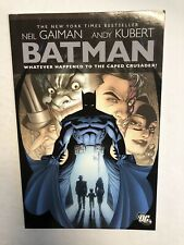 Batman Whatever Happened To The Caped Crusader? | TPB (NM)(2010) Neil Gaiman