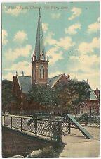 M.E. Church in Van Wert OH Postcard 1911