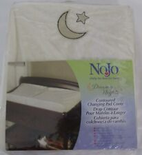 NoJo Dreamy Nights Contoured Changing Pad Cover ivory cream new in pkg