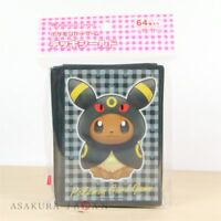 Pokemon Center Original Card Game Sleeve Eevee Poncho Series Umbreon 64 sleeves