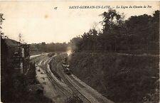 CPA   Saint-Germain-en-Laye - La Ligne du Chemin de Fer   (453061)