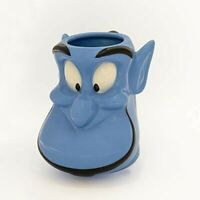 Disney Aladdin Genie Figural Ceramic Coffee Mug 3D Large 22 oz BRAND NEW UNUSED