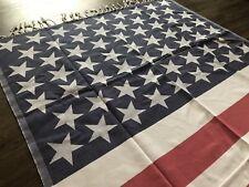 Usa Flag,Pareo Turkish Peshtemal Towel 100%Cotton,Hammam-Beach Towel,Usa Seller