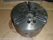 "12"" 3 Jaw CNC Lathe Chuck  w/ 3.75"" Thru Hole Turning Center 3800 RPM"