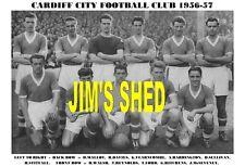 CARDIFF CITY F.C. TEAM PRINTS X 25 (1925-1972)
