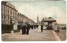 Weymouth - Esplande Photo Postcard c1905