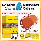 NEW Rosetta Stone® SPANISH LATIN AMERICAN LEVEL 1 HOMESCHOOL +HEADSET +AUDIO CD