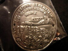 Burg Festung Regenstein Blankenburg medallion G2796