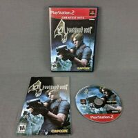 Resident Evil 4 Sony PlayStation 2 2005 PS2 Greatest Hits Complete with Manual