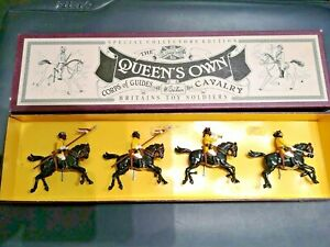 Britains Toy Soldiers Special Collector Edition 8835 Quenn's Own Cavalry