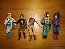GI Joe Action Figures Mixed Lot 5 Hasbro 3.5 inch Assorted Characters Mixed E