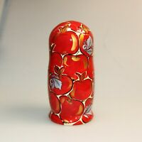 Matryoshka Toy, Russian Doll, Khokhloma Hand Painting Wooden Nesting Doll