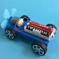 DIY Air Powered Car Assembly Model Kit Development Science Educational Toy Gift