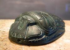 Altägyptischer SKARABÄUS mit Horus und Udjat-Augen