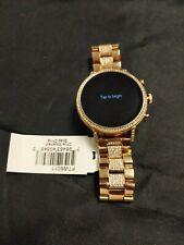 Fossil(Gen 4) Q Venture HR Stainless Steel Smartwatch - Rose Gold