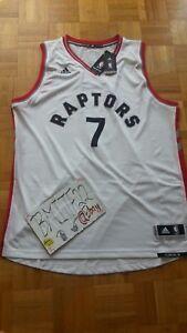 NWT Kyle Lowry Toronto Raptors Home Adidas R30 Swingman Jersey Men XL