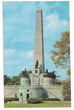 Pres 00006000 . Lincoln'S Tomb Obelisk Oak Ridge Cemetery Springfield Illinois Postcard Il