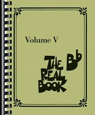 The Real Book Volume V B-flat Edition Real Book Fake Book NEW 000175278