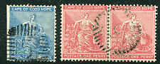 Numeral Cancellation South African Stamps (Pre-1961)