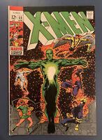 Uncanny X-Men 55 Marvel 1969 FN+ Polaris Havok Living Pharaoh Barry Smith