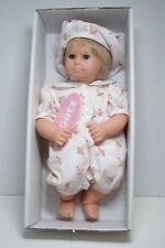 "Gotz.American Girl Pleasant Co Baby Linda 14.5"" Blonde Blue eyes Tag Box NEW"