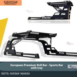 NAVARA Sport Bar - Sports Bar with Tray for NISSAN NAVARA