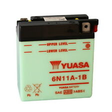 BATTERIA YUASA 6N11A-1B 58/64 AERMACCHI ALA BIANCA 250 06.01112 6V/11AH