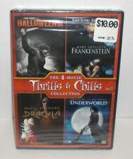 HALLOWEEN II / FRANKENSTEIN / DRACULA / UNDERWORLD 4-Film Feature DVD Set NEW