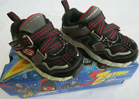 NEW Skechers Black Zstrap Sneakers Toddler Shoes Boys 5