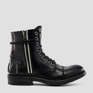 Replay Herrenschuhe Shoes Stiefeletten Schuhe Boots BLACKBIRD Schwarz