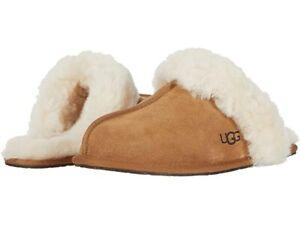 UGG Women's Scuffette II Slipper 1106872 Chestnut Sz 5-12 NEW