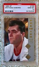 1995 SP ARVYDAS SABONIS RC PSA 10 CARDREGISTRY hof