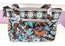 Vera Bradley Java Blue Little Betsy Purse Shoulder Handbag
