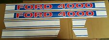 Ford 4000 Tractor Hood Decal Kit 1968 & Up